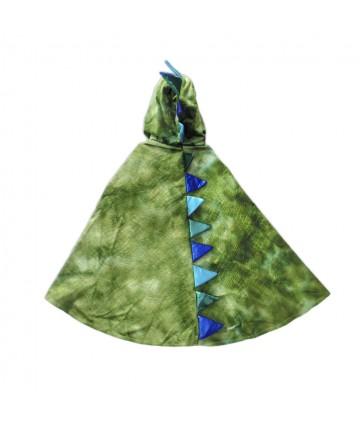 Cape de dragon vert avec...