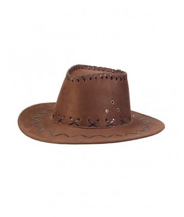 Chapeau Alec Cowboy dark-brown