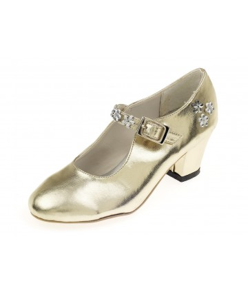 Chaussures dorées Sabine 36