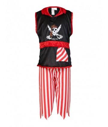 Pirate Gregg noir et rouge...