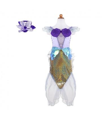 Robe sirène lilas 5-6ans