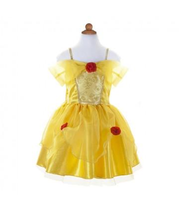 Robe Belle jaune 5-6 ans