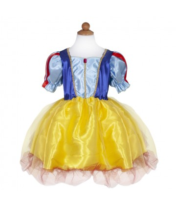 Robe Blanche Neige 5-6 ans