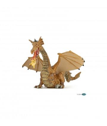 Dragon avec flamme