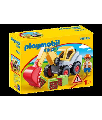 Playmobil 123 pelleteuse