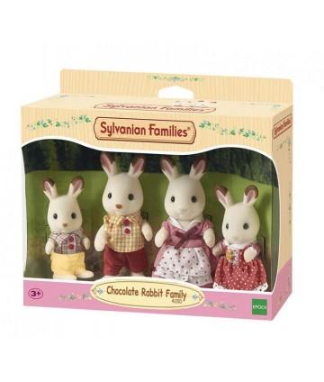 Famille lapin chocolat