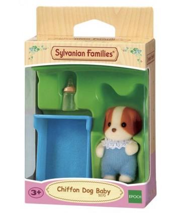 Bébé chien chiffon