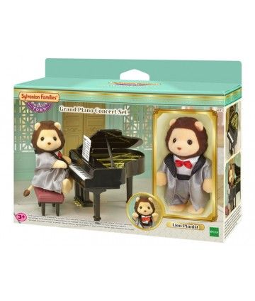 Le lion pianiste