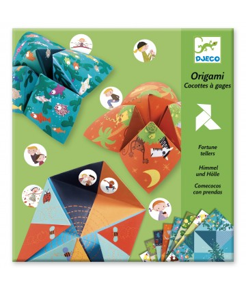 Origami cocottes à gages...