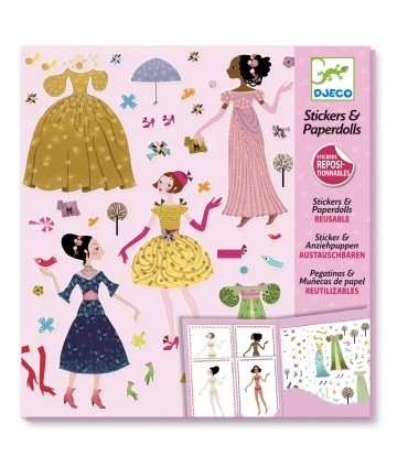 Paper dolls robe des 4 saisons