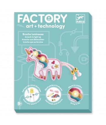 Factory - Broche Sweet Licorne