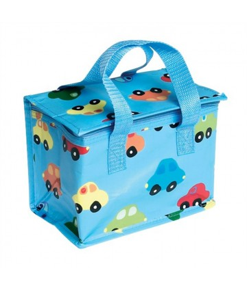 Lunch bag - Blue car