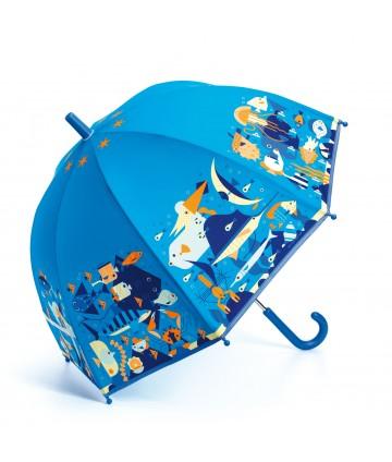 Parapluie monde marin