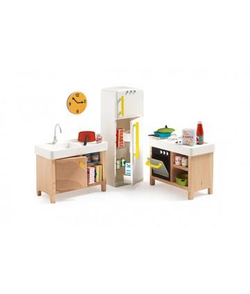 Maison de poupées - La cuisine