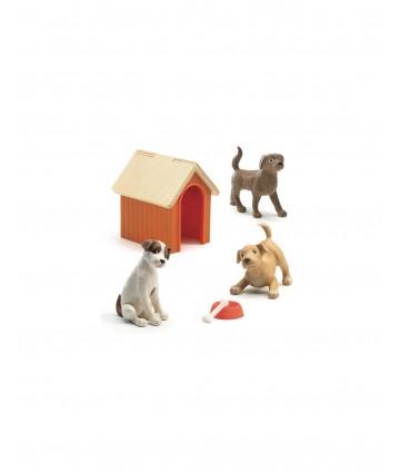 Maison de poupées - les chiens