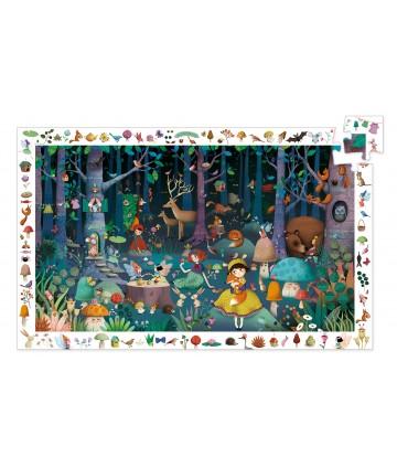 Puzzle observation Forêt...