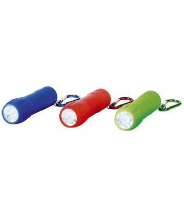 Lampe de poche avec mousqueton