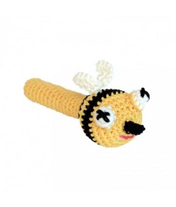 Hochet crochet abeille