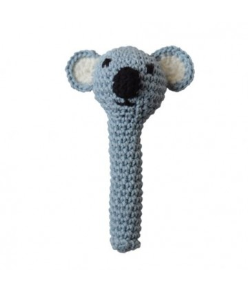 Hochet crochet koala