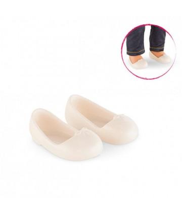 Ballerines ivoire