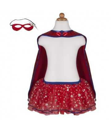 Super héroïne (tutu, cape,...