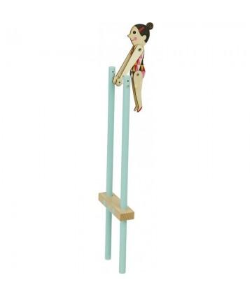 Les salto's Acrobate Ingela...