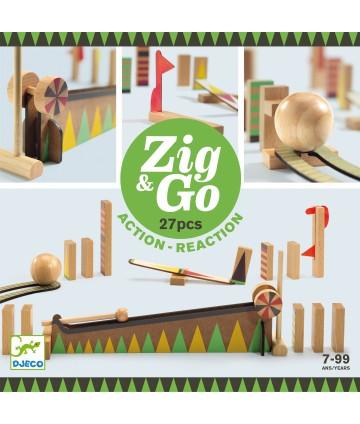 Zig & Go - Courbe - 27 pièces
