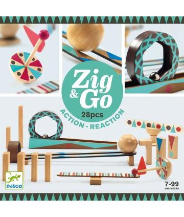 Zig & Go - Roule - 28 pièces