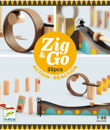 Zig & Go - 5642 - 25 pièces
