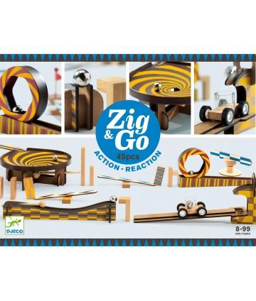 Zig & Go - Vroom - 45 pièces