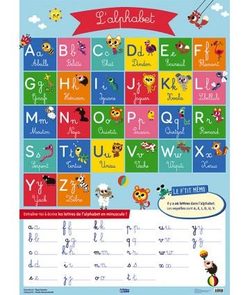 Poster Lettres de l'alphabet
