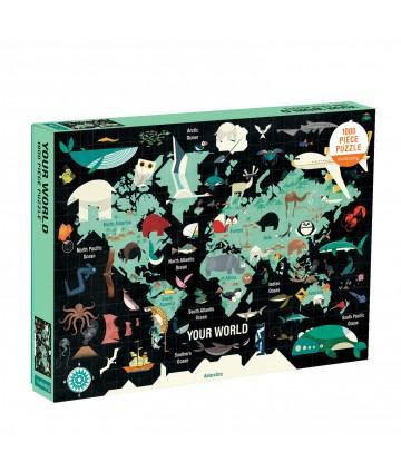 Puzzle - Votre monde 1000...