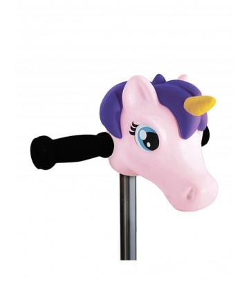Tête de poney violette