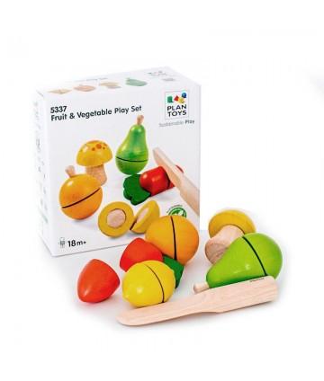 Set fruits et légumes à couper