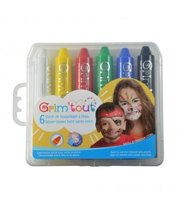 Boîte de 6 sticks maquillage