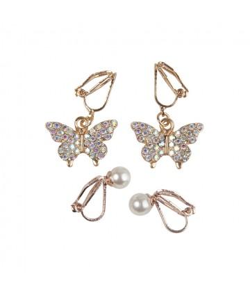 Boucles d'oreille Butterfly...