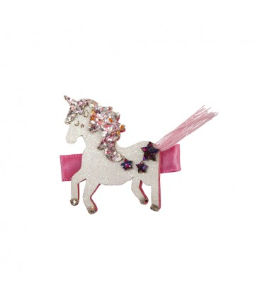 Barrettes tassy tail unicorn