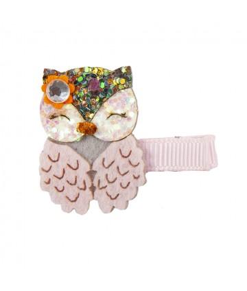 Barrette dear owl