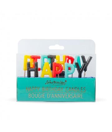 Bougies anniversaire super...