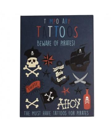 Tatouages temporaires pirates
